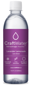 Lavender Lemonade Flavored Water with Electrolytes